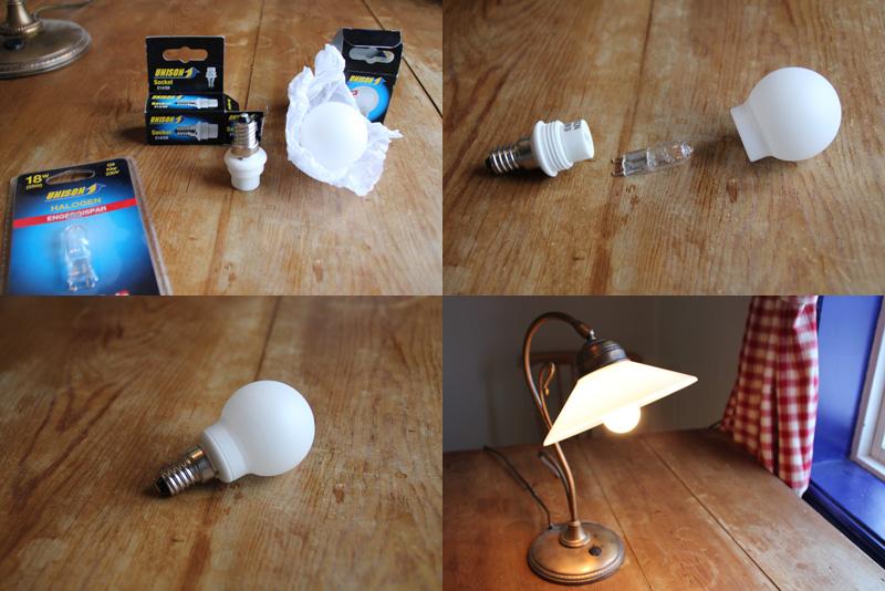 Bygga egen led lampa
